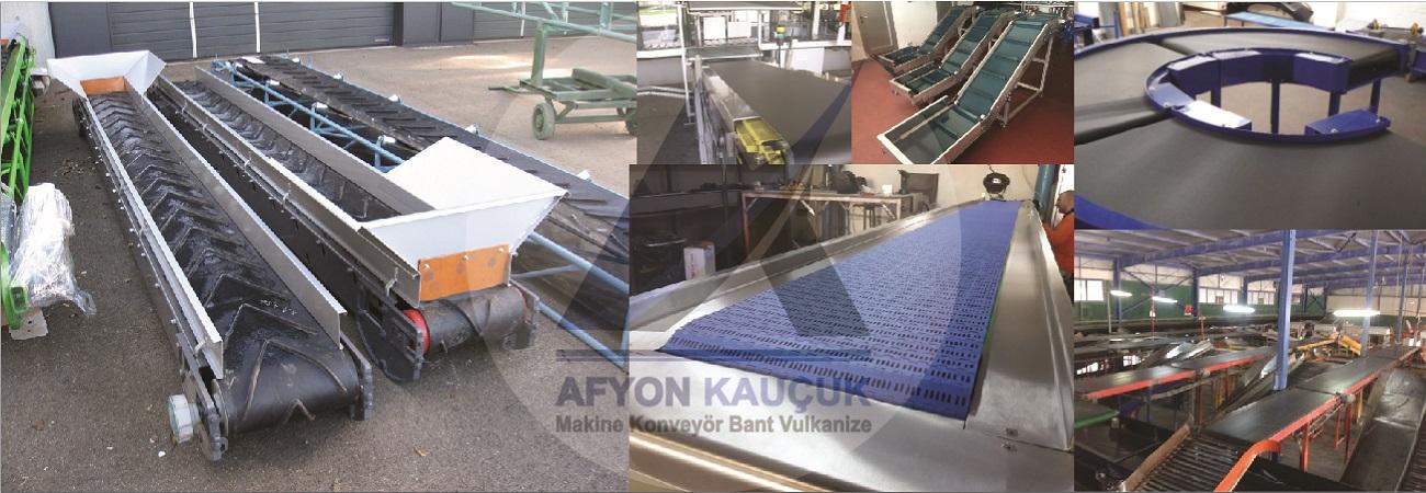 Konveyor Bant | PVC-Kauçuk-Makine Konveyor | Afyon Konveyor |